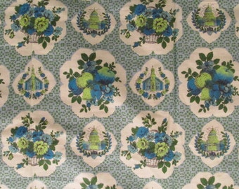 Mid Century Lightweight Drapery Fabric 1 yard x 35 inches more available