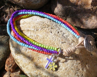 Bracelet Strands of Colors