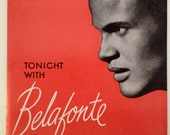 Vintage 1959 Belafonte Tonight Concert Program WITH BONUSES