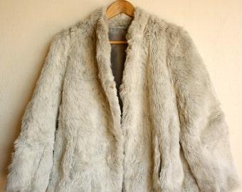 Fabulous vintage faux fur coat 1970's Tyber Global Furs Melbourne