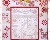 Winter Wonderland quilt  pattern by Crab Apple Hill