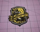 Hufflepuff Iron on Patch