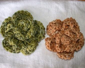 Pattern - Crochet Flower: Camelia, Rose