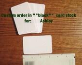 Custom Listing for: Ashley--black rectangles