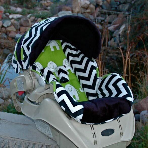Snugride 22 Custom Replacement Baby Car Seat Cover Sweet Custom Baby Boy Car Seat Covers