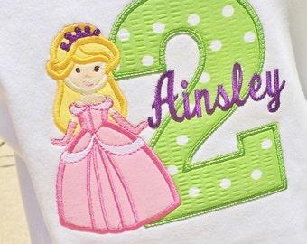 Girls Birthday Princess