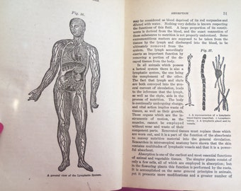 Vintage Illustrated 1918 People's Medical Advisor Book from Rustysecrets