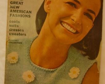Vogue Knitting Pattern Magazine Spring-Summer 1966