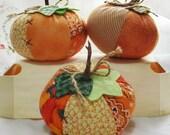 Decorative Punpkin - Pincushion