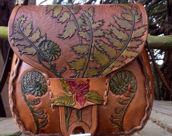 Forest Drifter Fiddlehead Bag