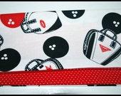 Betty Bandana in Retro Bowling Bags & Balls Print