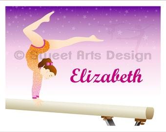 Gymnast  -  Wall Print  (or)  Greeting Cards
