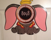 Dumbo the Flying Elephant Body Part Stateroom Door Magnets for Disney Cruise