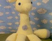Custom order for Kim. Small giraffe and bear.