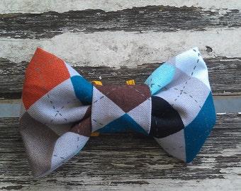 Winnie slide-on-collar doggie/kitty bow tie