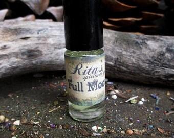 Rita's Full Moon Hand Brewed Ritual Oil - Celebrate the Full Moon, Honor Mama Moon - Hoodoo, Magic, Pagan, Witchcraft