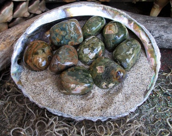 Rita's Rhyolite Ritual Crystal - Goals, Cleanse Mental Blockage - Pagan, Magic, Witchcraft, Hoodoo