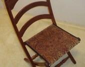 Civil War Folding Chair - Arched Slats