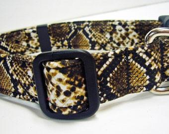 Doodlebug Dud's Snake Skin Collar