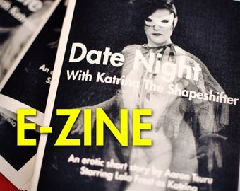 E-ZINE - Date Night With Katrina The Shapeshifter: An erotic sci-fi short story nudiezine by Aaron Tsuru - MATURE