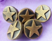 Five Star General Polymer Clay Buttons