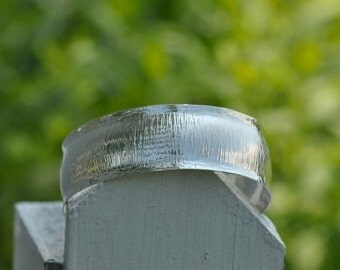 Silver Rays of Light Cuff Bracelet, Handmade in Maine