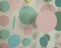 Baby shower garland