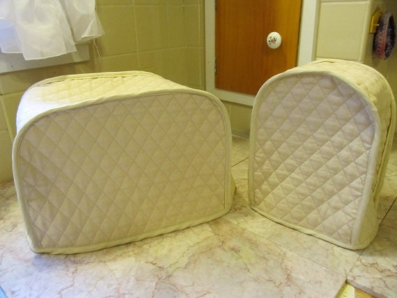 2 slice toaster and can opener cover kitchen appliance covers. Black Bedroom Furniture Sets. Home Design Ideas