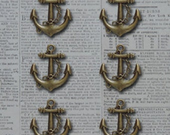 Anchors Aweigh Charms