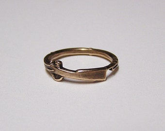 SHOT GUN, Attractive little ring wraps around your finger