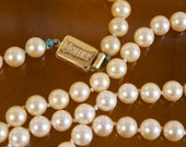 Vintage 1980s Monet Pearl Necklace