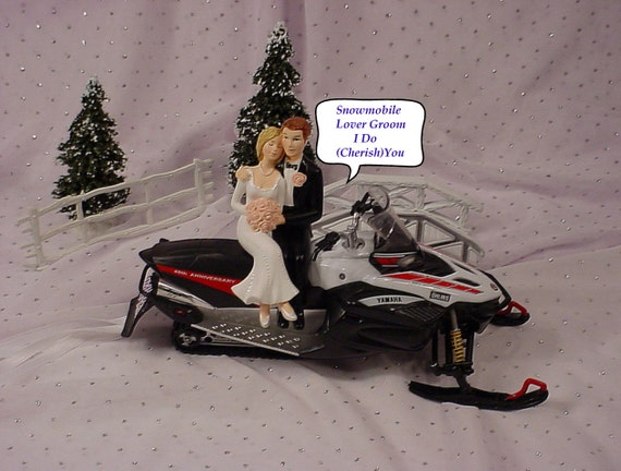 Anniversary Red White Black Yahma Snowmobile Snow Sports Lover