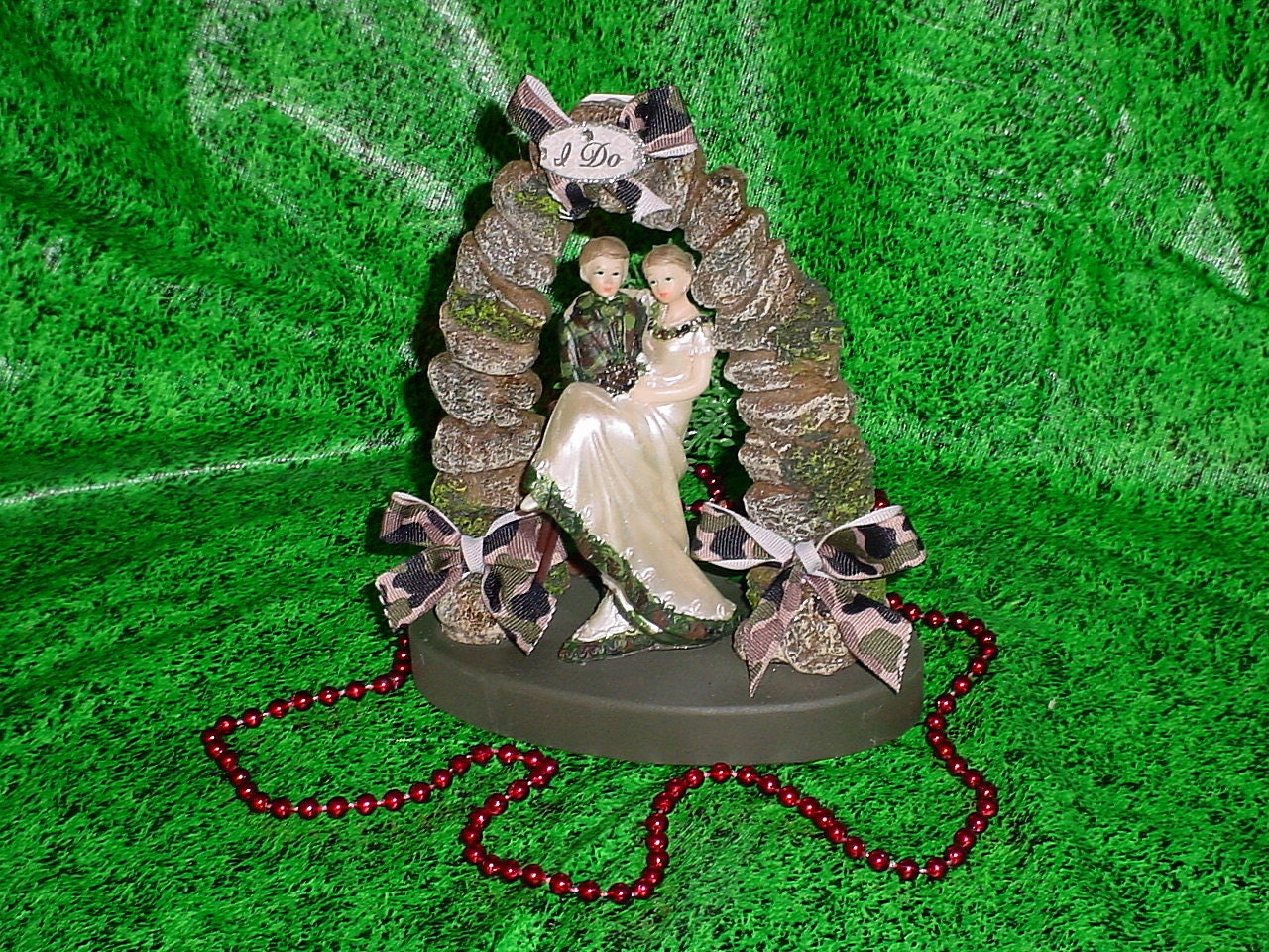 Redneck Hunter Mossy Camo Groom Love Deer Hunting Funny I DO