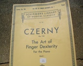 Czerny The Art of Finger Dexterity for the Piano