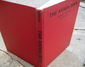 Vintage Book The Animal Book Illustrated Book of North American Mammals