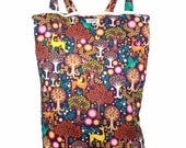 RESERVE Listing for mgol25 - Wet Bag Hanging Diaper Pail Laundry Bag - Fantasy Forest- FAST SHIPPING