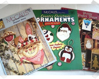 Craft Booklets/McCalls/Single OR Set(s)/Craft Supplies/1994-1999*