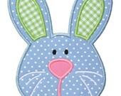 284 Boy Bunny  Machine Embroidery Applique Design