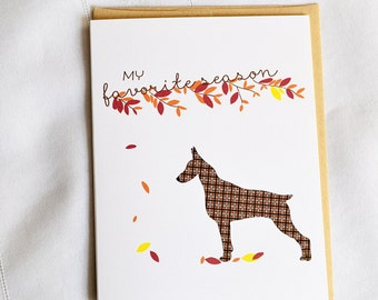 Favorite Season Greeting Card