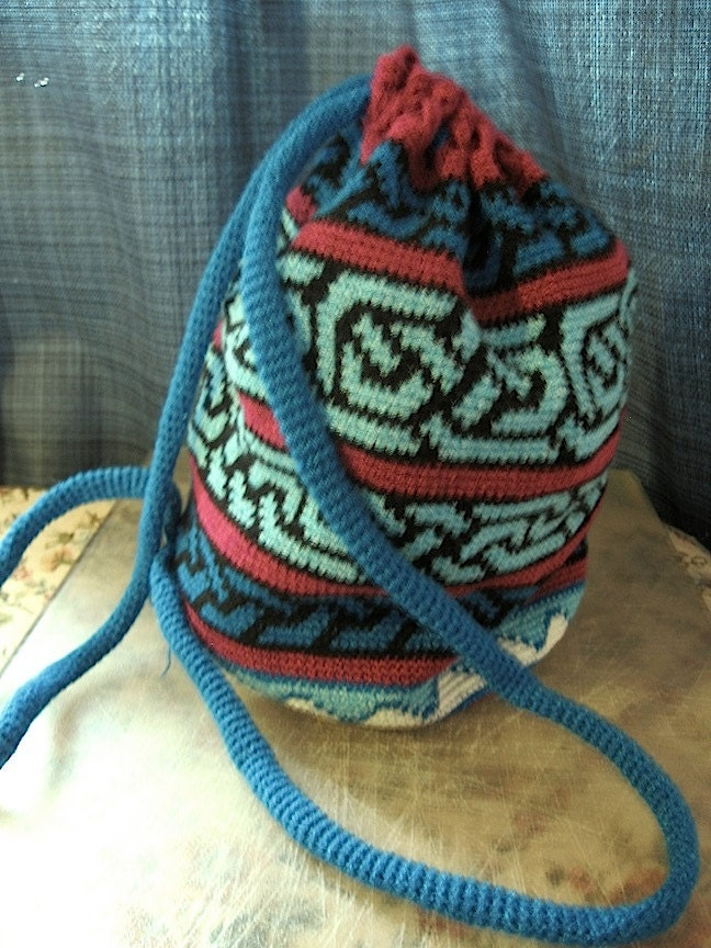 Tapestry Crochet Bag : Tapestry Crochet Bag Pattern by penelopescrochet on Etsy