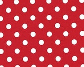 Pam Kitty Picnic  LH13030CHRY Lakehouse Dry Goods Cherry Polka Dots