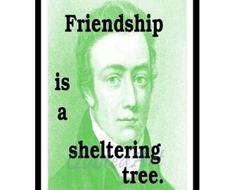 Samuel COLERIDGE Quoted Art print