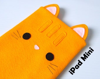 Cat iPad mini tablet case