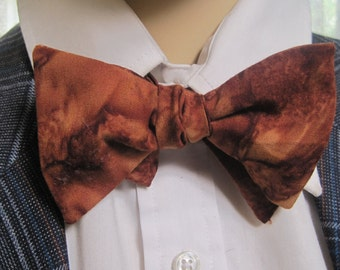 Espresso Brown Bow Tie