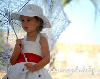 Mary Poppins Costume Custom Halter Dress