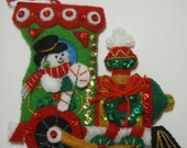 Bucilla Felted  ORNAMENT #1 from the CANDY EXPRESS Collection