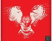 Premium H.owl (Wolf Owl Illusion) Design on Unisex T Shirt