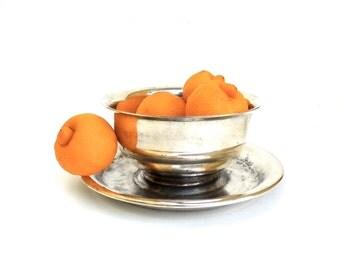 lovely vintage silver paul revere bowl   ..   vintage serving