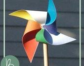 Pinwheel SVG File