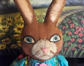 Primitive bunny and peeps, PATTERN, creations by Dumplinragamuffin,OFG Team, HAFAIR,